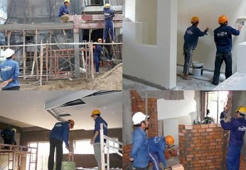 thợ xây trát ốp lát tại hà nội